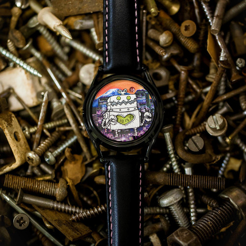 Mr. Jones Robotto Shi Automatic Limited Edition (99-V9) nut and bolts