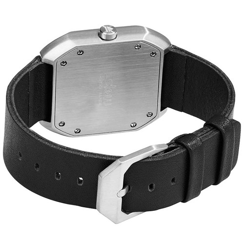 Slow Mo 06 Swiss One Hand Silver Black (slow-Mo-0006) strap