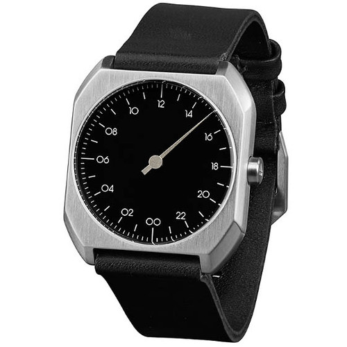 Slow Mo 06 Swiss One Hand Silver Black (slow-Mo-0006) full
