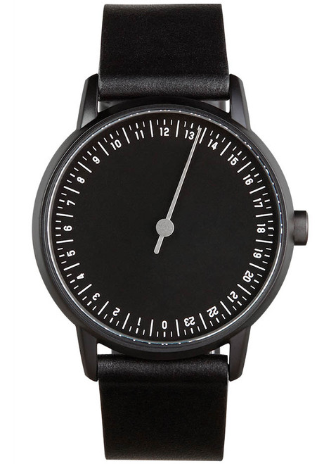 Slow Round 09 Swiss One Hand All Black (slow-round-09) front