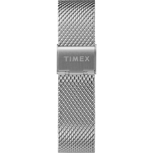 Timex Marlin 40mm Automatic Mesh Silver Black (TW2T22900) band