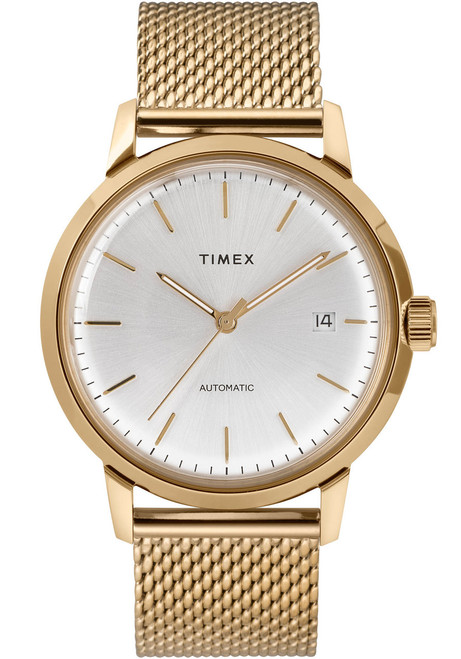 Timex Marlin 40mm Automatic Mesh Gold (TW2T34600)