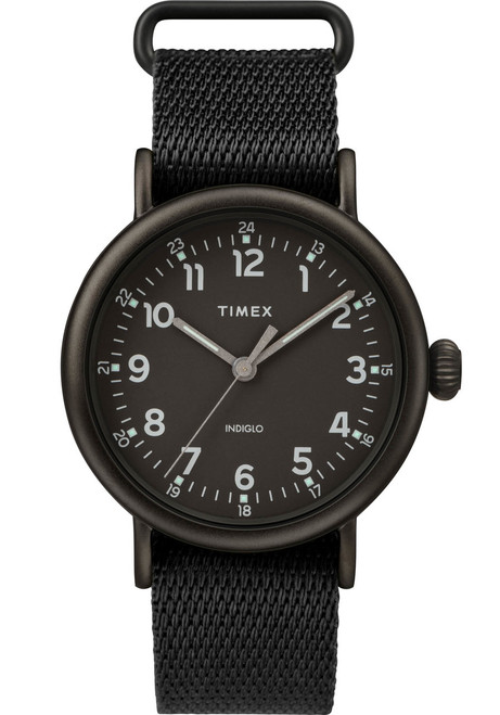 Timex Standard 24 Hour All Black (TW2T20800) front