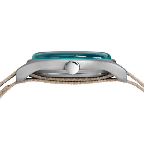 Timex MK1 California Grey Blue (TW2T25300) side