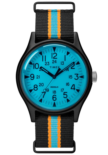 Timex MK1 California Blue Black (TW2T25400) front