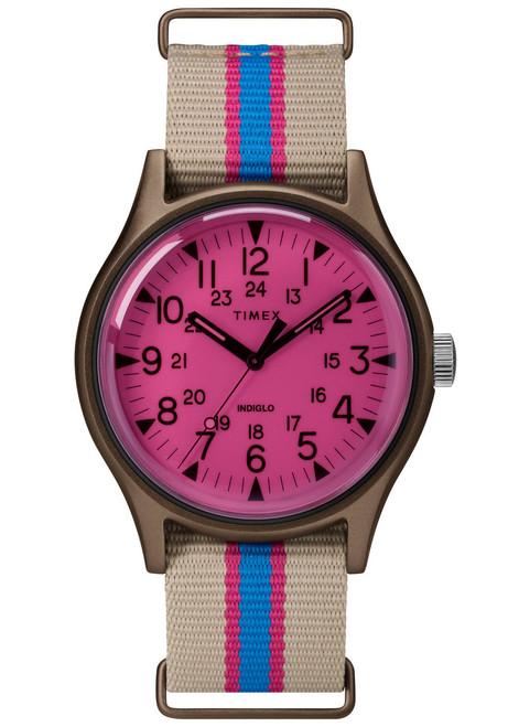 Timex MK1 California Pink Beige (TW2T25600) front