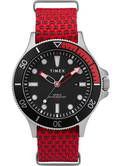 Timex Allied Coastline Red Black (TW2T30300) front