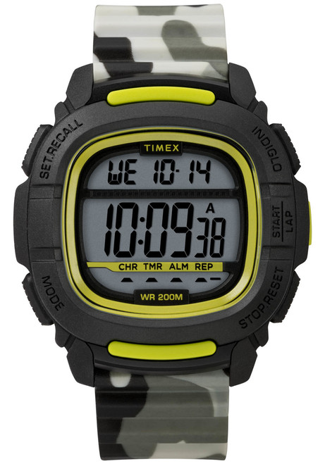 Timex Boost Digital Black Green Camo (TW5M26600)