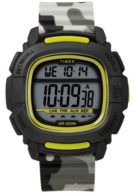 Timex Boost Digital Black Green Camo (TW5M26600)