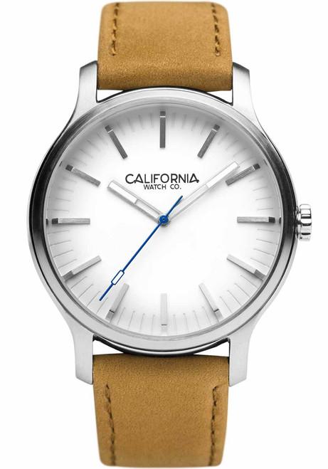 California Watch Co. Laguna 40 Leather Sand White (LGM-1101-12L)