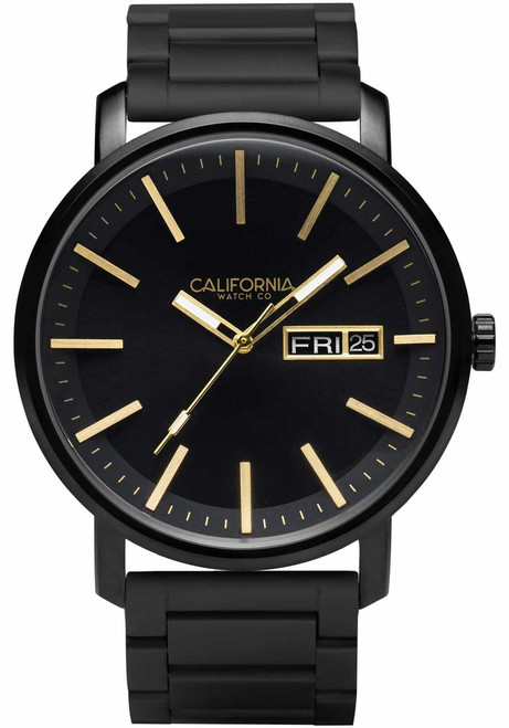 California Watch Co. Mojave SS All Black Gold (MJV-3335-03B)