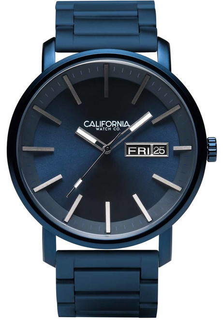 California Watch Co. Mojave SS Deep Blue (MJV-7772-07B)