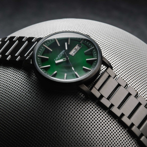 California Watch Co. Mojave SS Gunmetal Green (MJV-2299-02B)