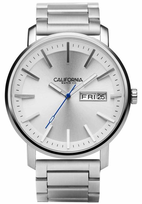 California Watch Co. Mojave SS Silver (MJV-1111-01B)