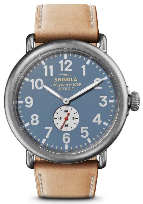 Shinola Runwell 47mm Blue Tan (S0120141506)