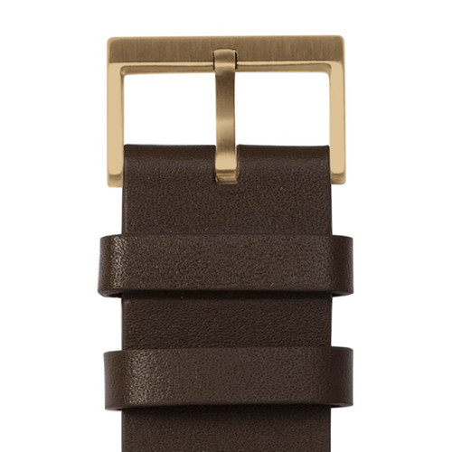 LEFF Amsterdam T40 Brass Brown (LT75323) buckle