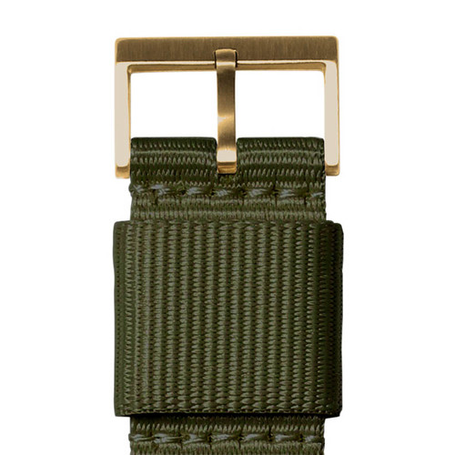 LEFF Amsterdam T40 Brass Green (LT75333) buckle
