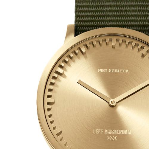 LEFF Amsterdam T40 Brass Green (LT75333) dial