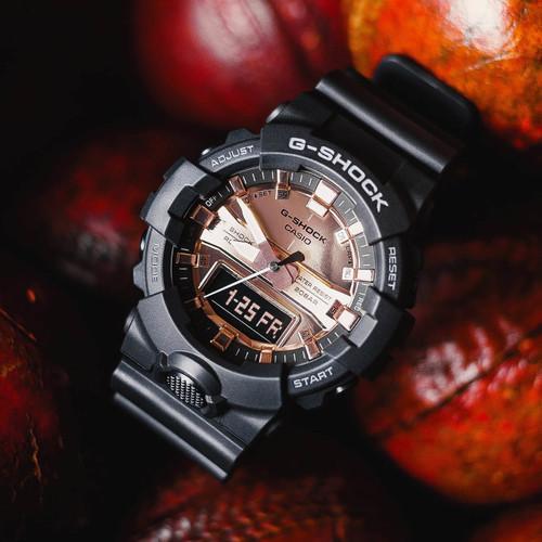 G-Shock GA800 Ana-Digi Black Metallic Rose Gold (GA800MMC-1A)