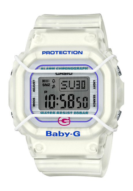 G-Shock Baby-G 25th Anniversary White (BGD525-7) front