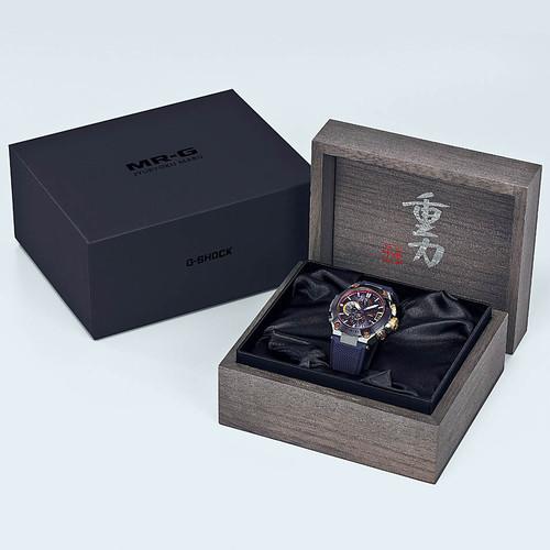 G-Shock MR-G Hardened Titanium Limited Edition (MRGG2000RJ-2A) box