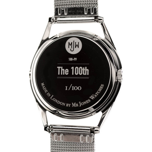 Mr. Jones The 100th (100-V9) caseback