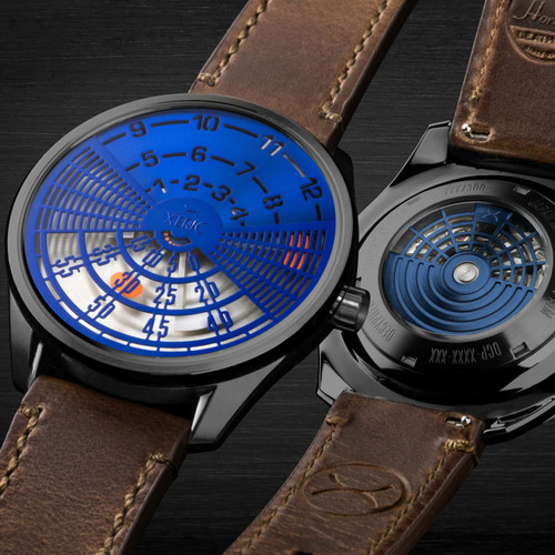 Xeric Decypher Automatic Blue Orange Limited Edition (DCP-2271-06L)
