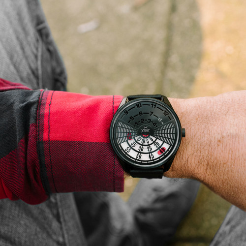 Xeric Decypher Automatic Black Red Limited Edition (DCP-3338-03L) wrist