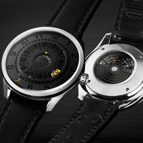 Xeric Cypher Automatic Tritium Black Yellow Limited Edition (CYP-1133-03L)