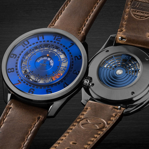 Xeric Cypher Automatic Tritium Blue Orange Limited Edition (CYP-2277-06L)