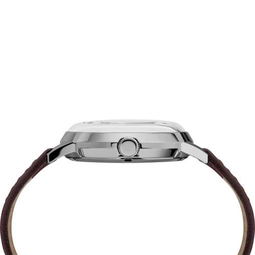 Timex Marlin 40mm Automatic Burgundy Silver (TW2T23200) side