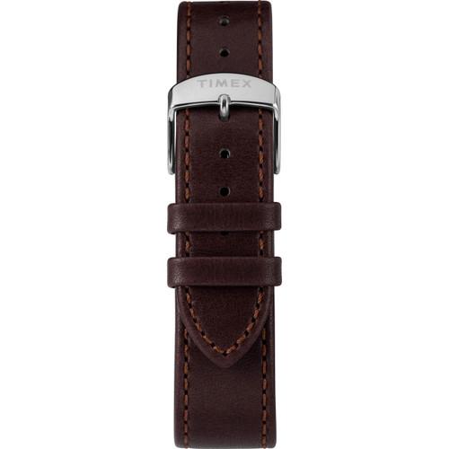 Timex Marlin 40mm Automatic Burgundy Silver (TW2T23200) strap