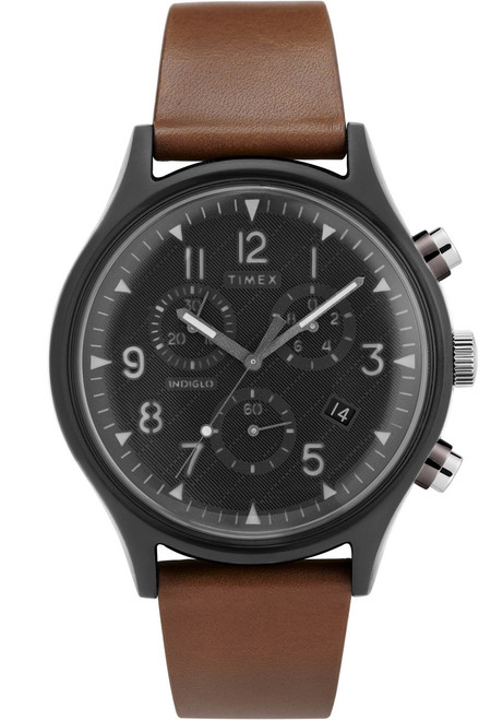 Timex MK1 Chrono Supernova Grey Brown (TW2T29600)