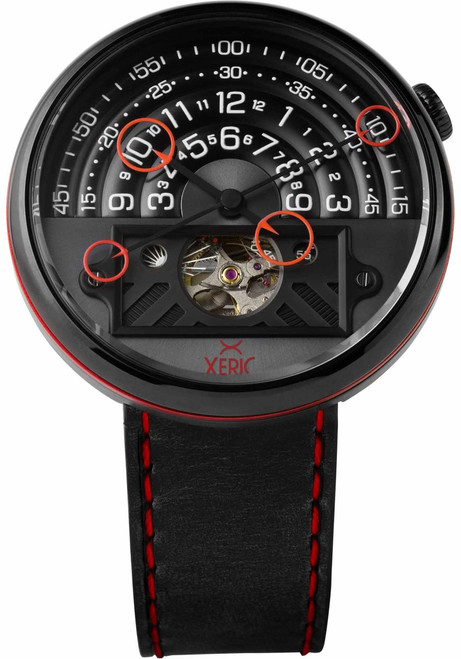 Xeric Halograph II Automatic Blood Moon Limited Edition (HGA-3838-03L)