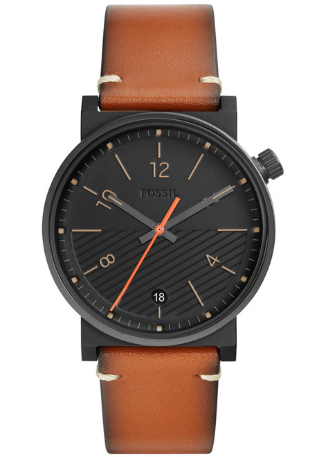 5eec5ed3b Fossil FS5507 Barstow Brown Black   Watches.com