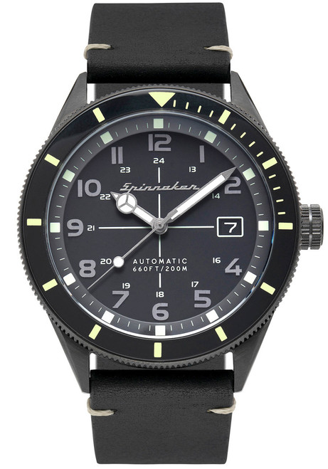 Spinnaker Cahill Automatic Black Black (SP-5064-01)