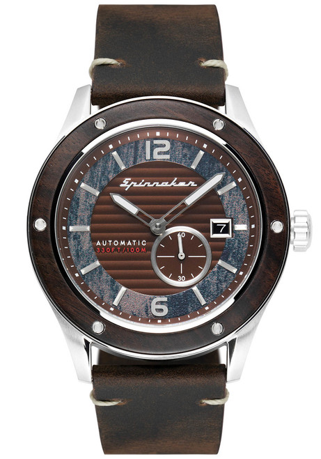 Spinnaker Sorrento Automatic Silver Brown (SP-5067-01)