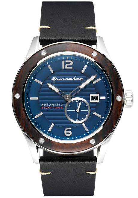 Spinnaker Sorrento Automatic Silver Black (SP-5067-02)