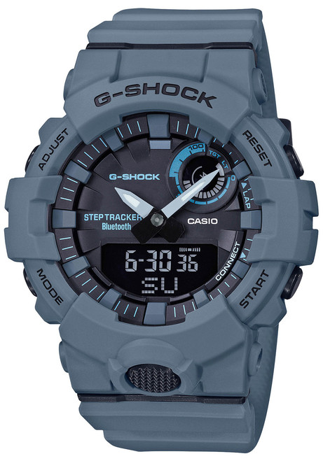 G-Shock GBA800UC G-Squad Ana-Digi Connected Gray (GBA800UC-2A) front