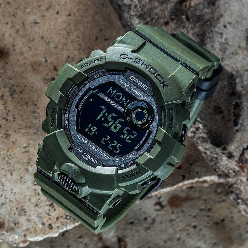 G-Shock GBD800UC G-Squad Connected Green