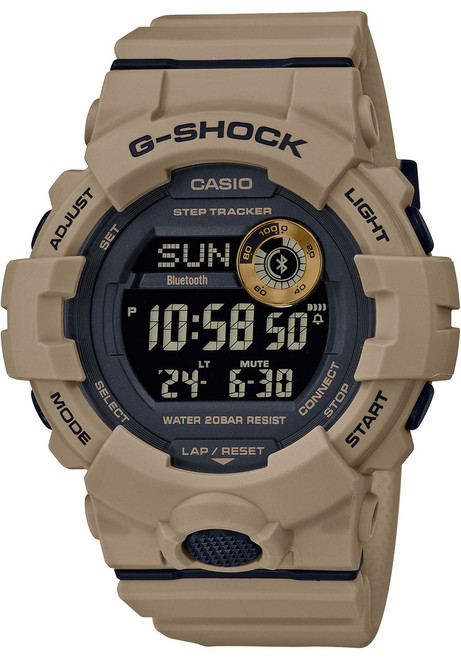 G-Shock GBD800UC G-Squad Connected Tan (GBD800UC-5) front