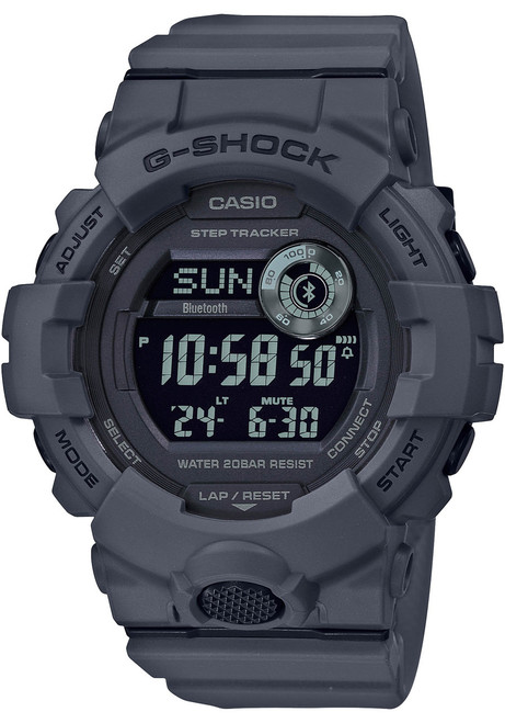 G-Shock GBD800UC G-Squad Connected Charcoal (GBD800UC-8) front