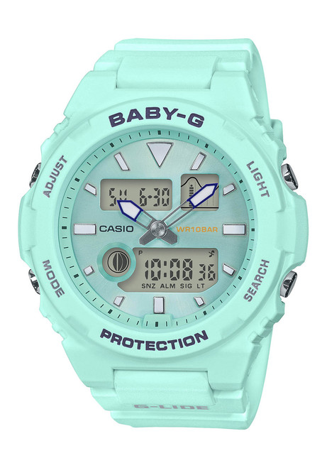 G-Shock BAX100 Baby-G Lide Ana-Digi Mint (BAX100-3A) front