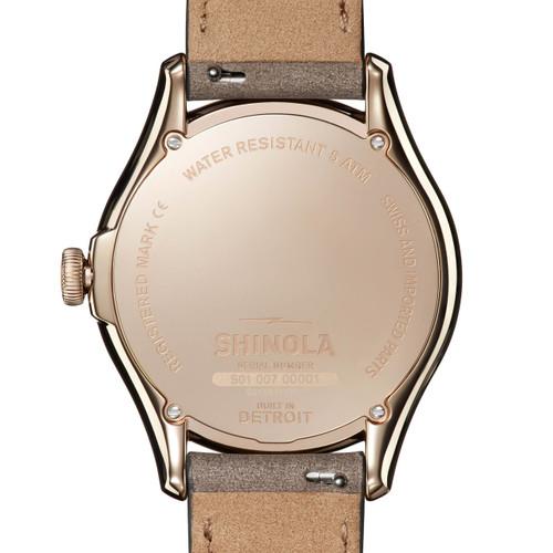 Shinola Vinton 38mm Ivory (S0120141284)