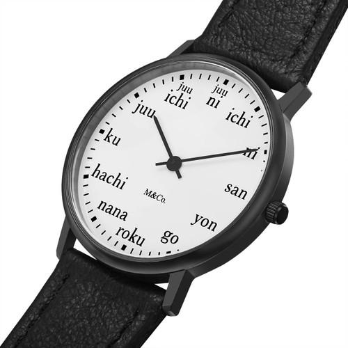 M&Co Ichi 33mm Black (PJT-7410) watch  dial