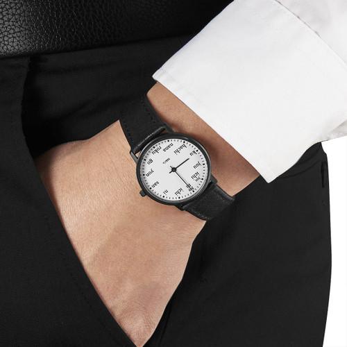 M&Co Ichi 33mm Black (PJT-7410) watch wrist