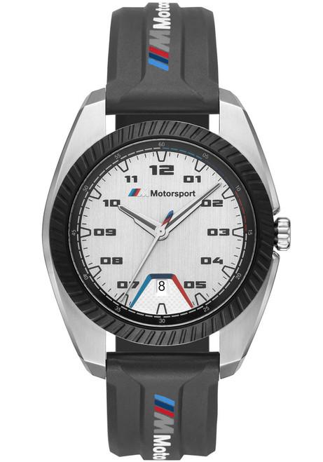 BMW 1001 M Motorsport Silver Black Silicone