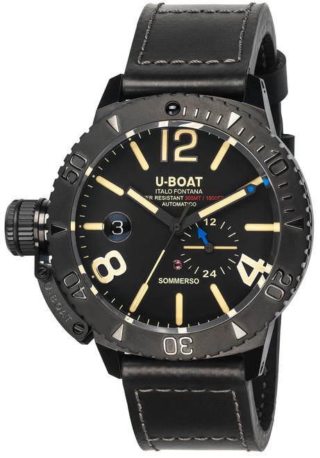 U-Boat Sommerso Automatic DLC Black (9015)