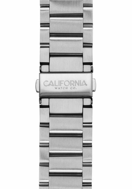 California Watch Co. 22mm Silver Mojave Bracelet (CWC-MJV-22S-01B-1