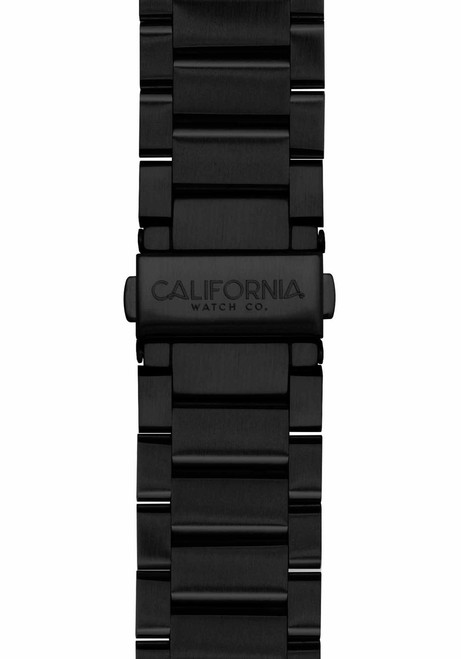 California Watch Co. 22mm Black Mojave Bracelet (CWC-MJV-22S-03B-3)